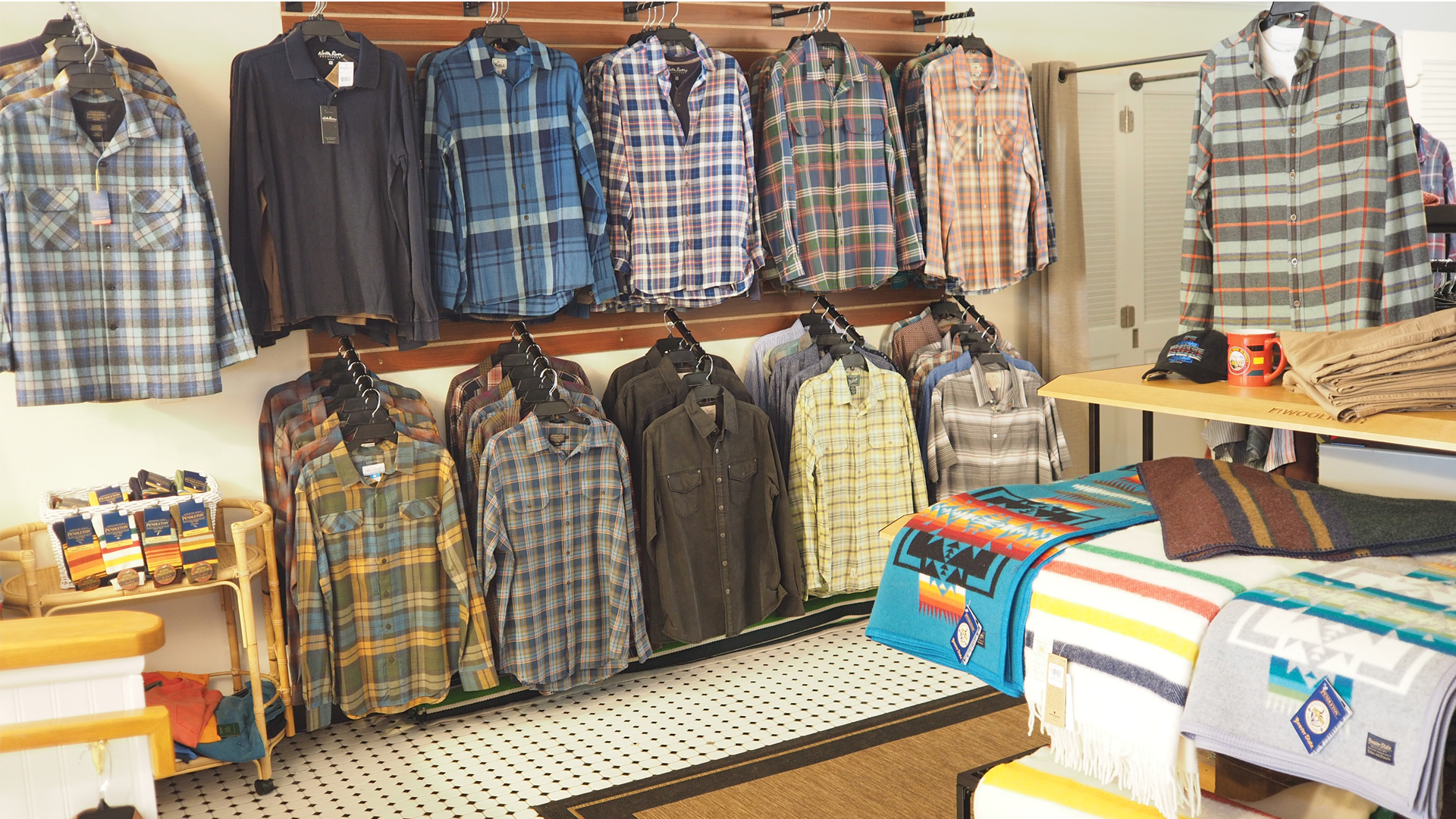 Mens Clothing, Harbor Springs, McClutcheys