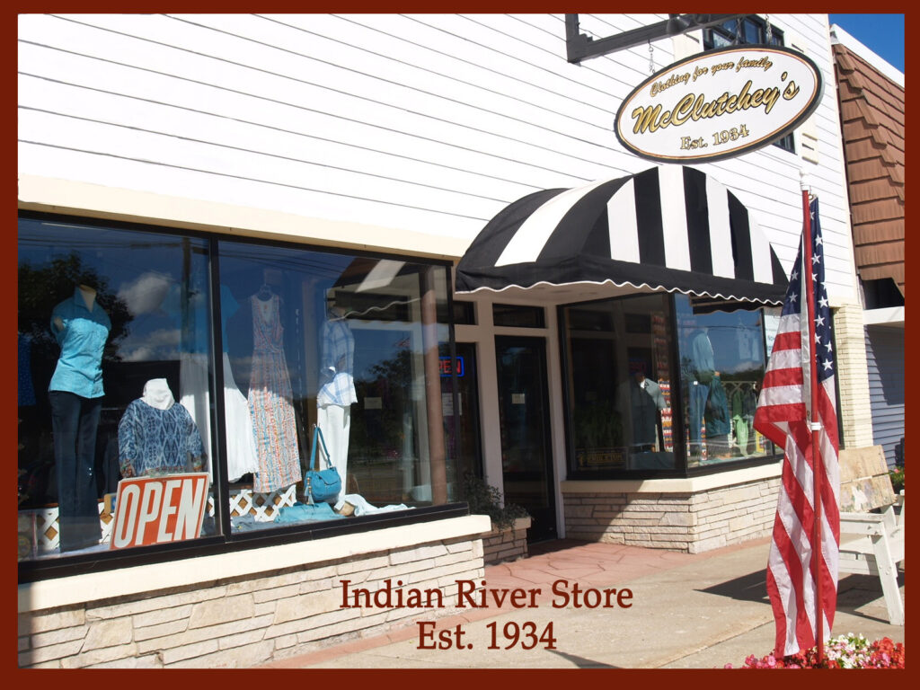 McClutchey's Indian River, Michigan