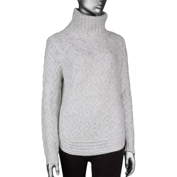 Charlie-B Cable Knit Sweater Cream