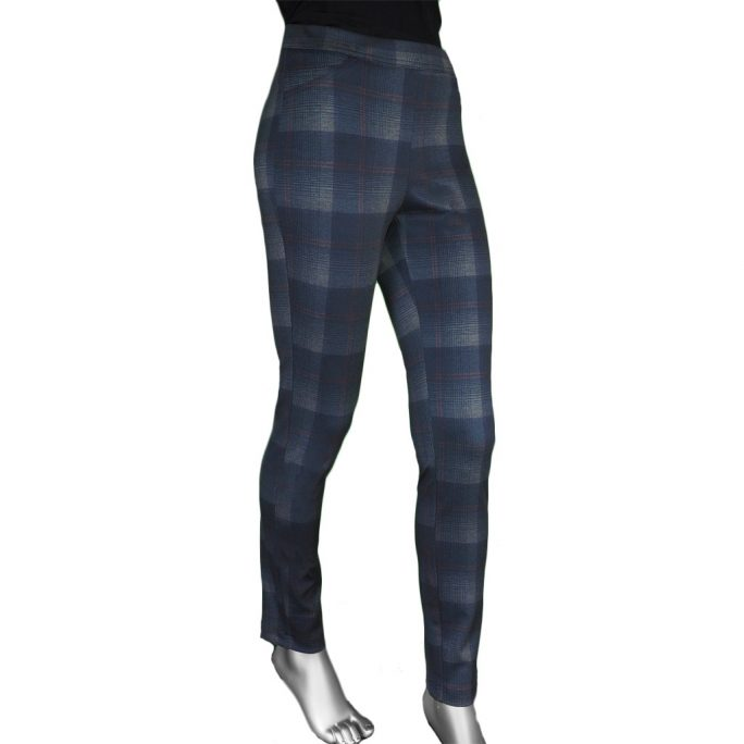 Tribal Pull-on Plaid Legging
