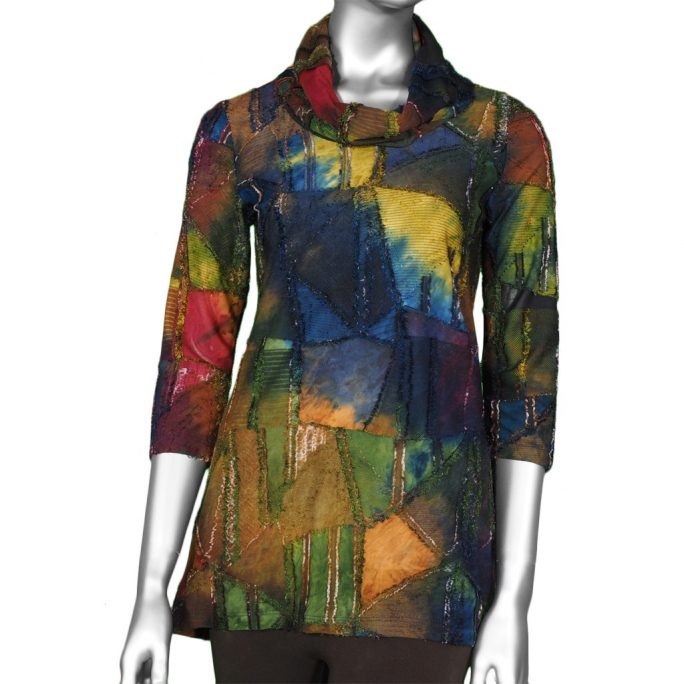 Pure Essence Multi-Color Tunic