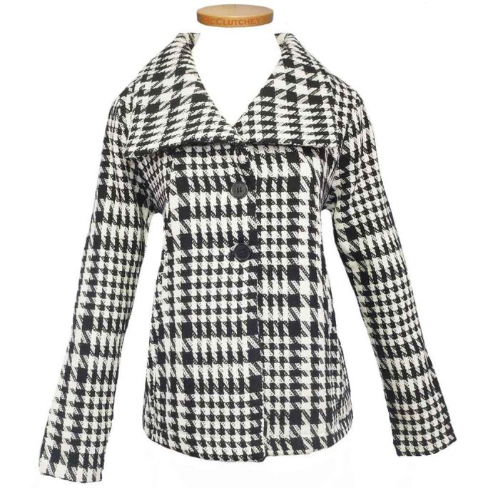 Lulu-B Houndstooth Jacket