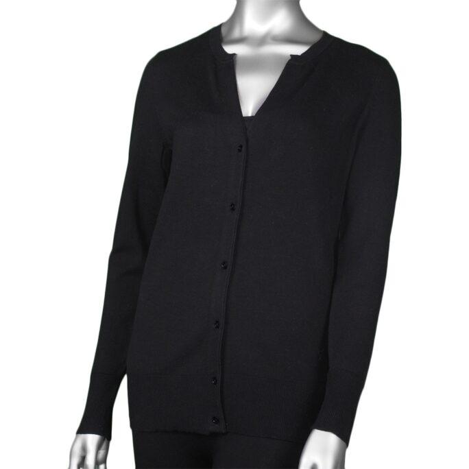 Tribal Long Sleeve Cardigan Sweater- Black