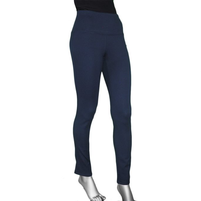 Slimsation Ponti Knit Legging Midnight