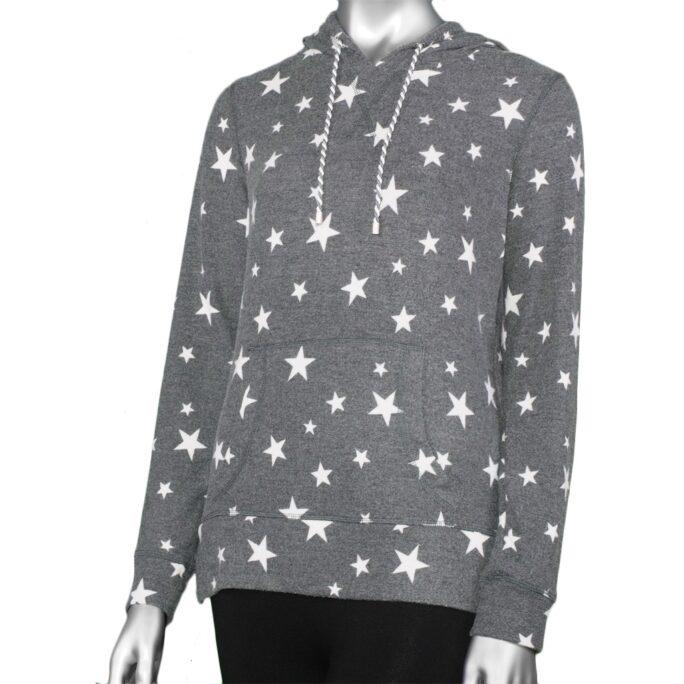 Grey Star Hoodie