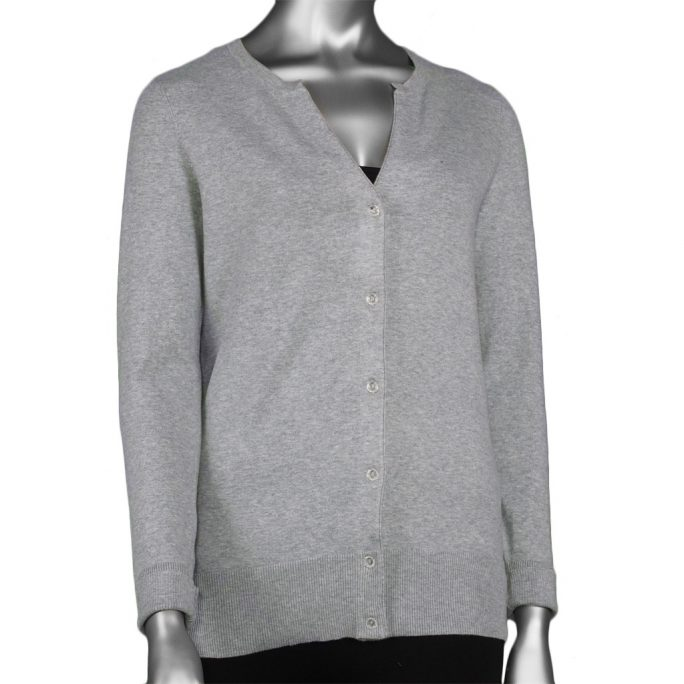 Tribal Cardigan Sweater - Grey Mix