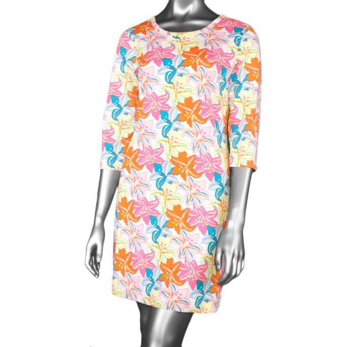 Lulu-B Travel Dress- Lily Print