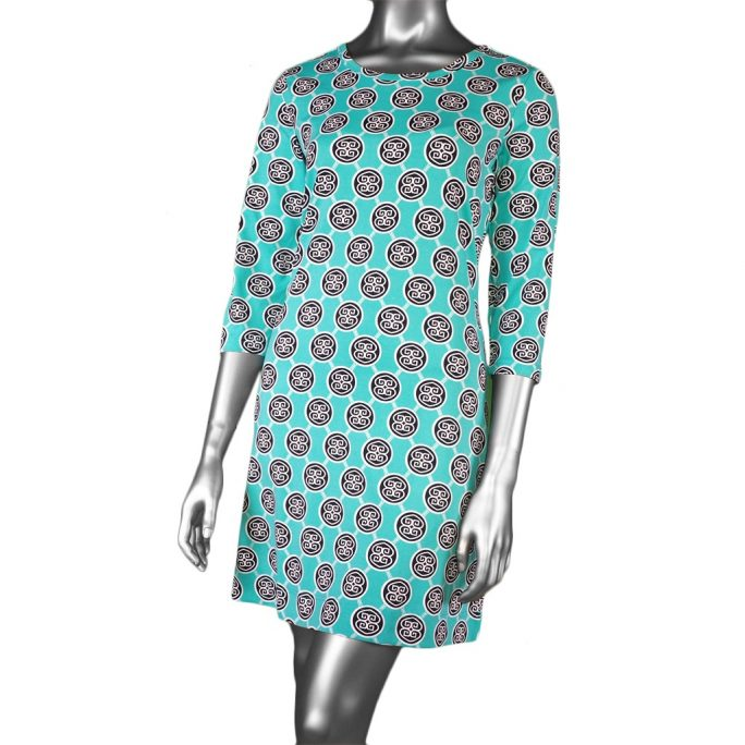 Lulu-B 3/4 Sleeve Travel Dress MNV