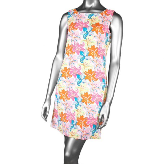 Lulu-B Sleeveless Travel Dress- Lilly