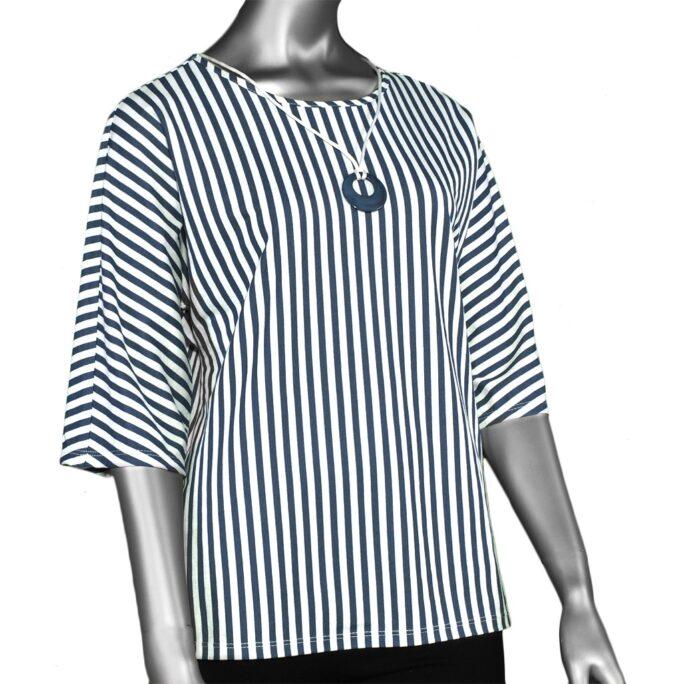 Pure Essence Striped Top