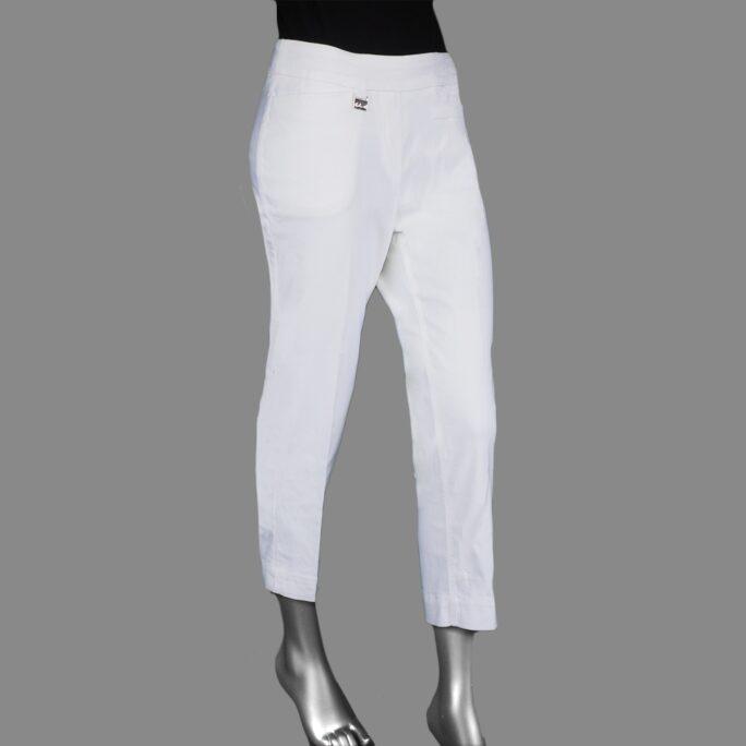 Lulu-B Contemporary Capri White