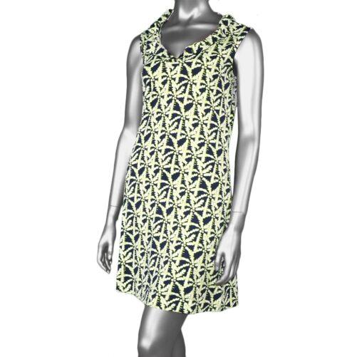 Lulu-B Ruffle Neck Dress- PLN
