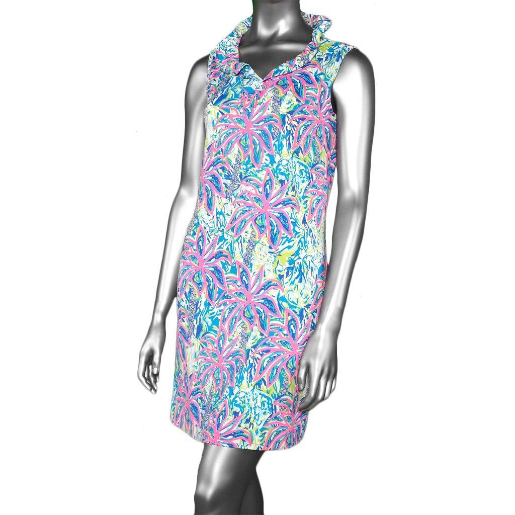 Lulu-B Ruffle Neck Dress PBM