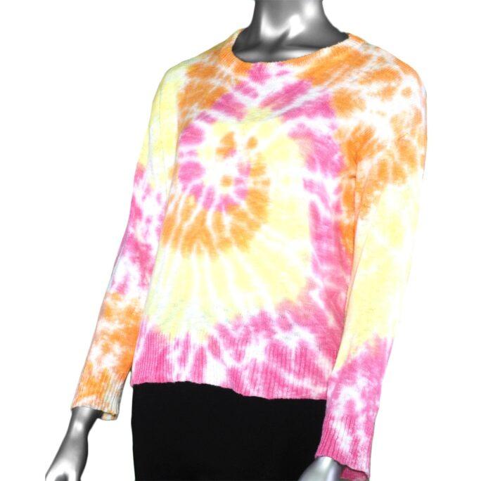 Lulu-B Tie Dye Sweater- Pink