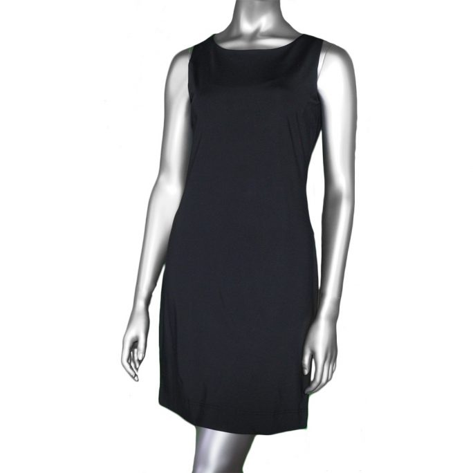 Lulu-B Sleeveless Travel Dress- Black
