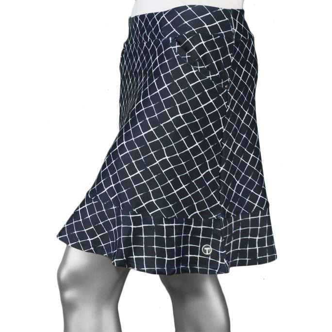 Tribal Skort with Frill- Ink