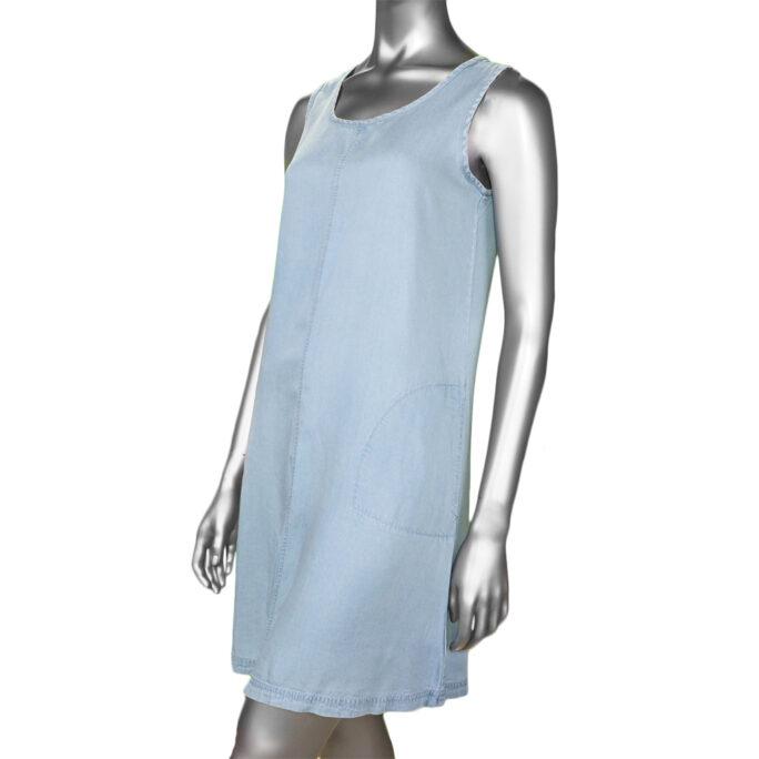 Renuar Woven Dress Light Blue