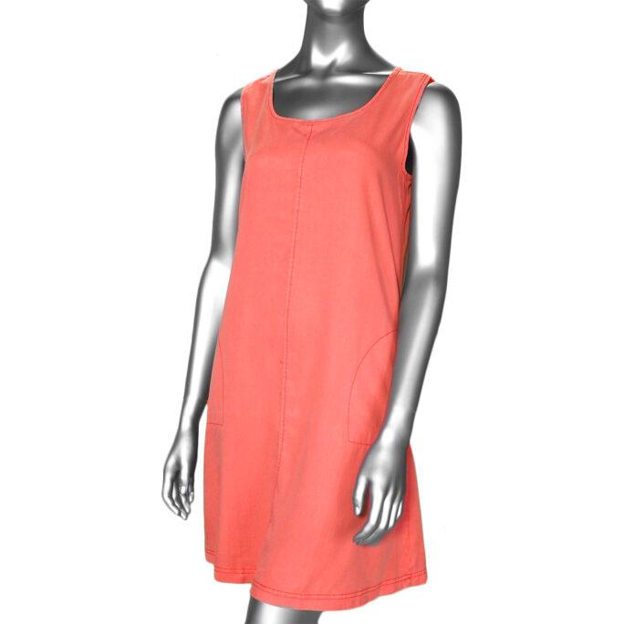 Renuar Woven Dress Papaya