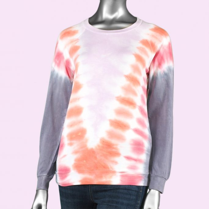 Tribal Crew Neck Top- Orchid