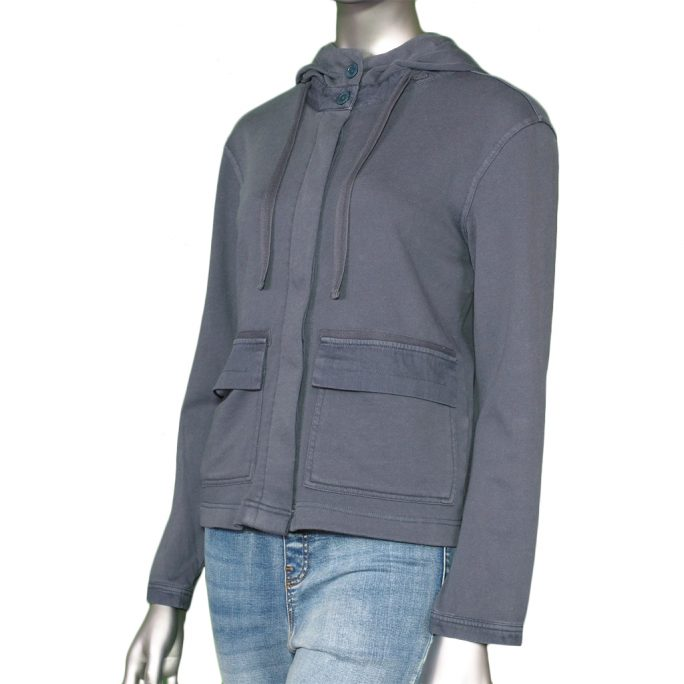 Tribal Hooded Jacket- BlueHaze