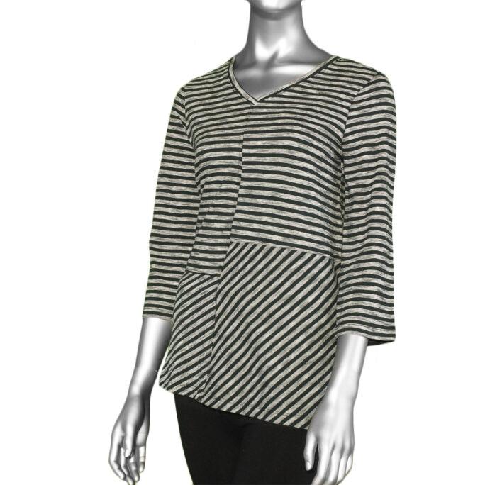 Habitat Pencil Stripe Tunic- Black. Habitat Style: 24715.