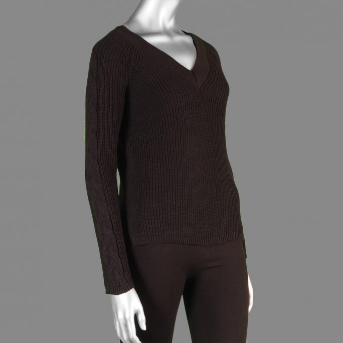 Tribal Wear 2 Ways Sweater- Black. Tribal Style:4754O-576-0002