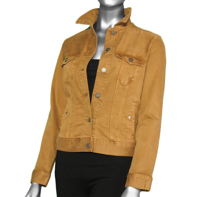 Liverpool Classic Jean Jacket- Haystack Tan. Liverpool Style:LM1004WF