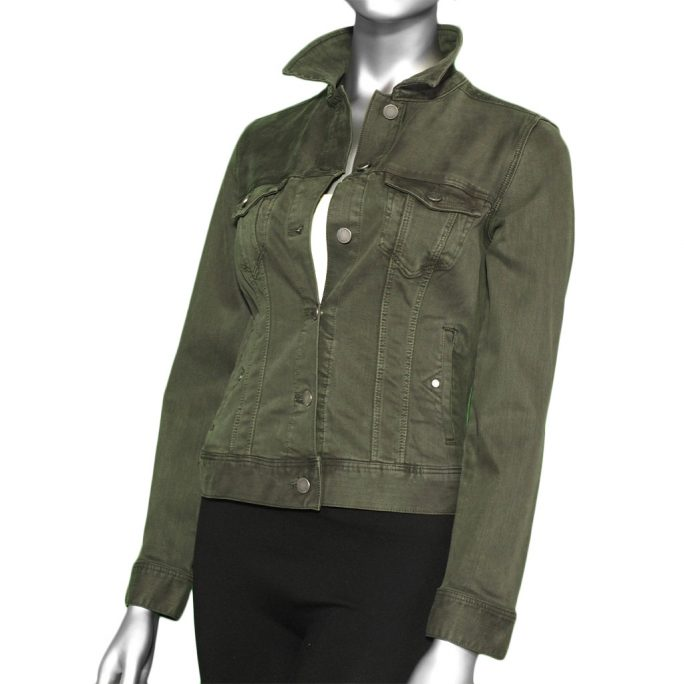 Liverpool Classic Jean Jacket- Loden Green. Liverpool Style:LM1004WF