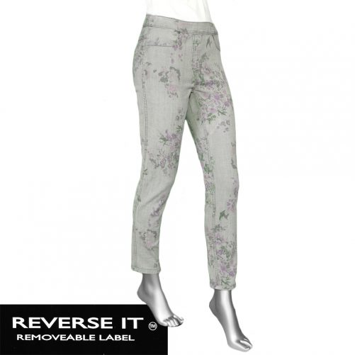 Tribal Audrey Pull on Ankle Jegging- Grey Dawn. Tribal Style:5641O-2020P-2761