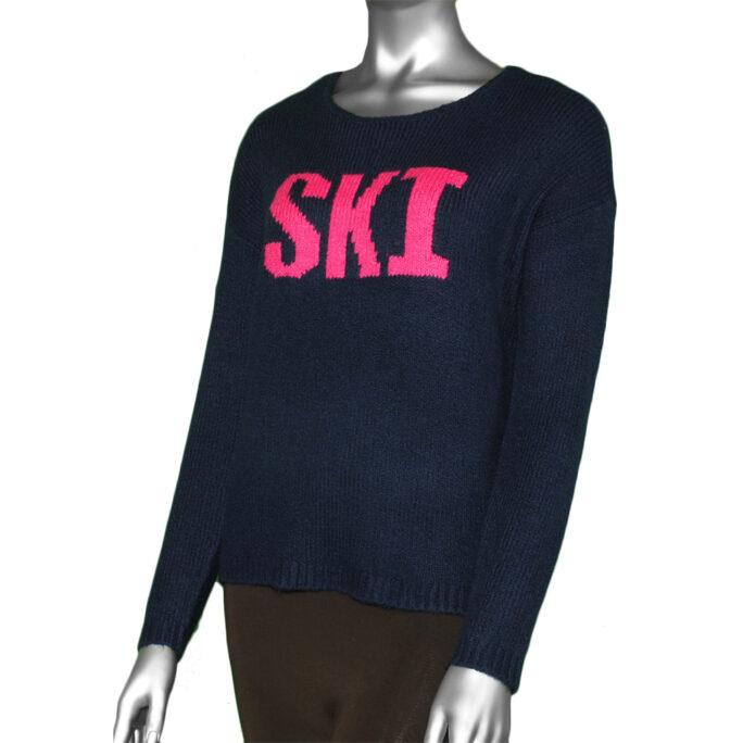 Tribal Intarsia Sweater- Nautical. Tribal Style:7220O-4504-2474 .